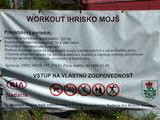 Workout ihrisko Mojš